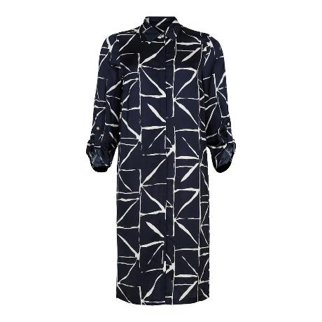 Q'Neel Long Shirt Dress