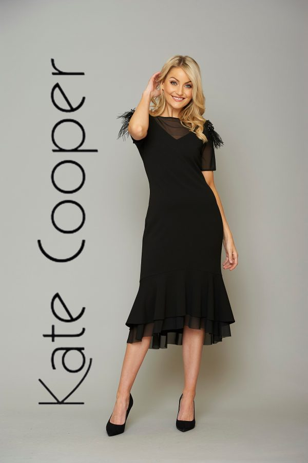 Kate Cooper black dress