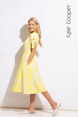 Kate Cooper yellow dress
