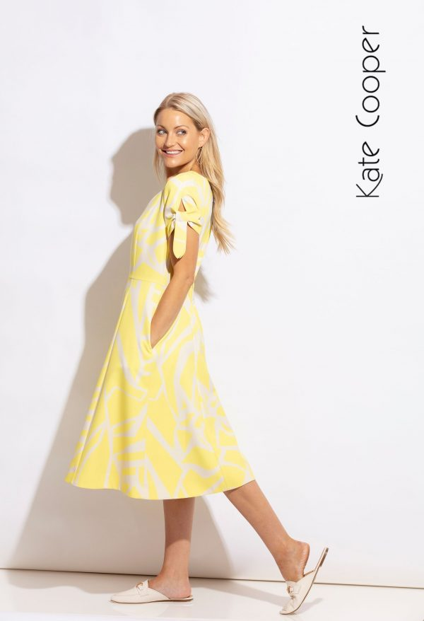 Kate Cooper yellow dress
