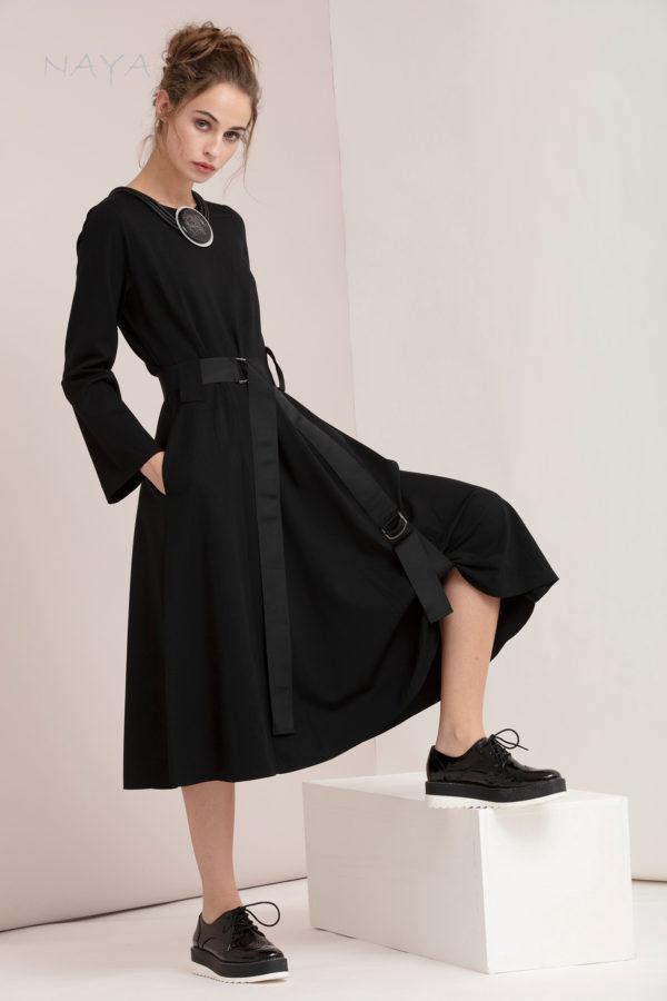 Naya Black Dress
