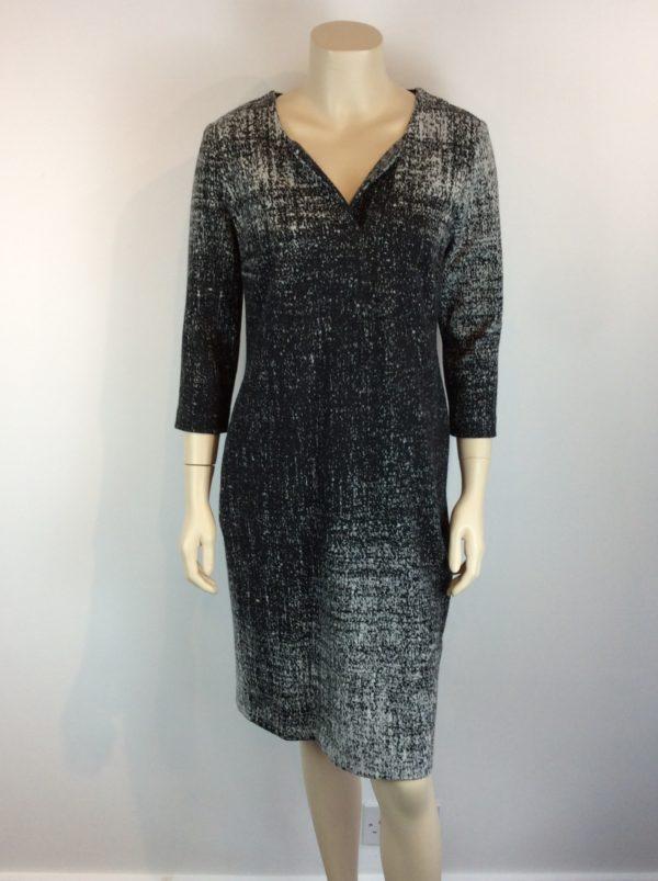 Peruzzi Black Grey Dress